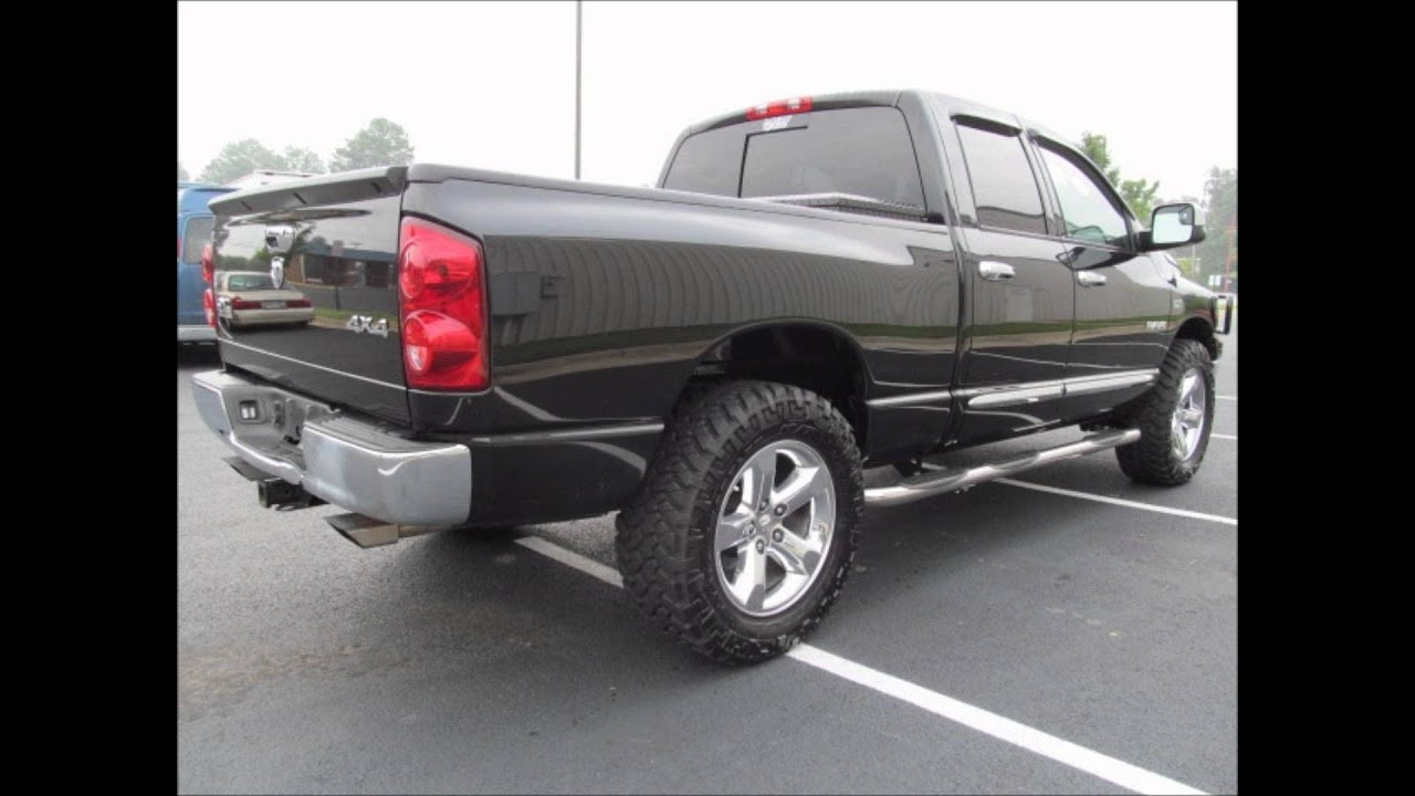2008 Dodge Ram 1500 Lifted Truck For Sale Youtube
