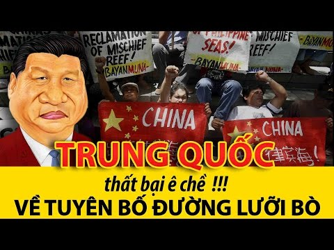 Trung Quốc thất bại ê chề trước phán quyết tòa quốc tế về tuyên bố