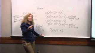 College Algebra: Lecture 5 - Transformations I