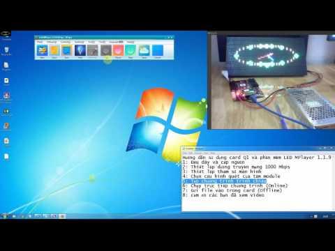 LED HIEP TAN Hướng dẫn sử dụng phần mềm LED MPlayer 1.1.9 card Q1-75