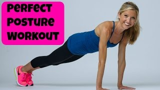 Perfect Posture Workout Video. Effective 8 Minute