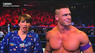 WWE Fred and John Cena vs Mr.Devlin and Kevin (HD)