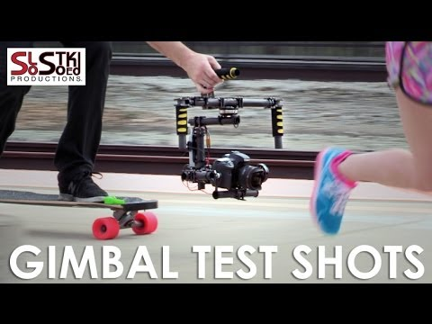 SLO Stoked - 3-axis gimbal test shots