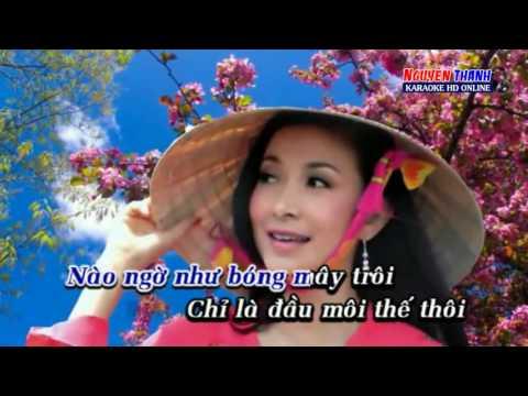 karaoke  Tình Yêu Màu Đen Bạc   Lý Diệu Linh