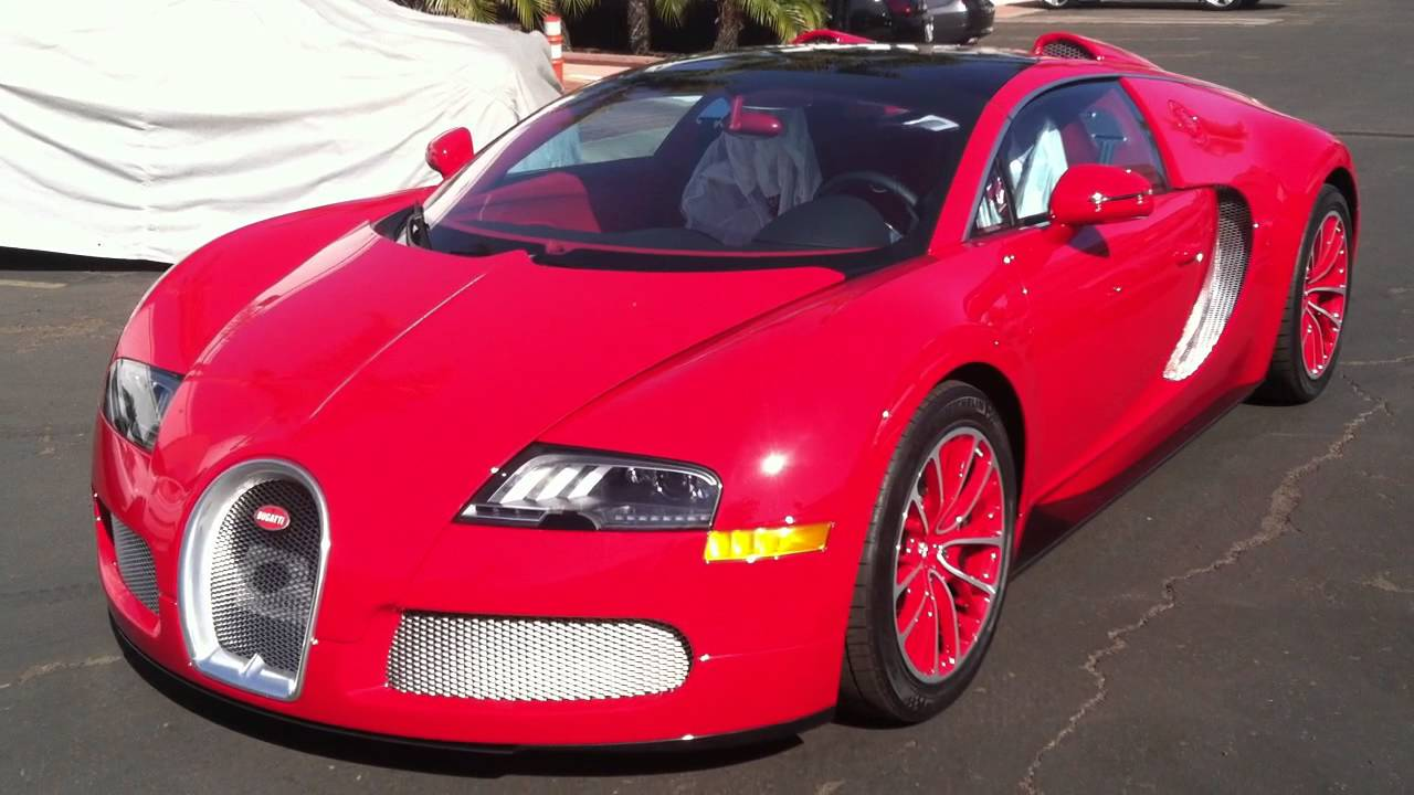 bugatti veyron red edition youtube. Black Bedroom Furniture Sets. Home Design Ideas