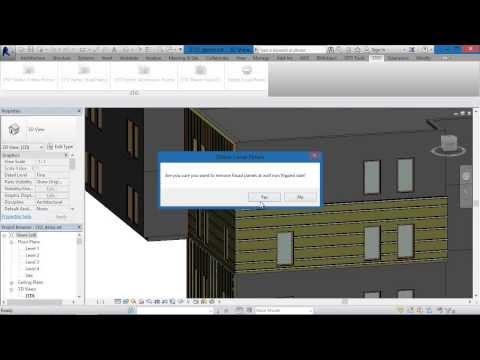 Sto facade cladding system Step by step tutorial for Revit