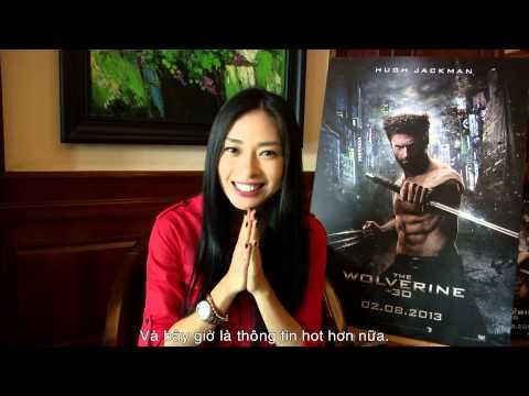 Người Sói Wolverine - Ngô Thanh Vân tham dự sự kiện ra mắt phim tại Seoul