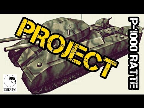 Landkreuzer P-1000 Ratte - PROJECT (WW2)