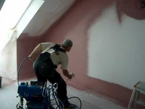 malowanie natryskowe agregatem