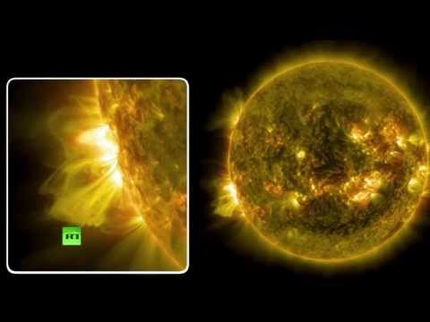 Sun releases massive solar flare - NASA video
