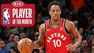 DeMar DeRozan | Player of the Month | January 2018