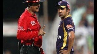 IPL 7: Gambhir fights with Umpire; fined