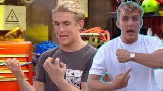 It's Everyday Bro but every time they say something stupid or cringy a Disney Bizaardvark clip plays