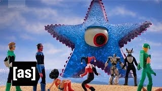 Robot Chicken: Mega-Starro vs the Justice League and the Legion of Doom