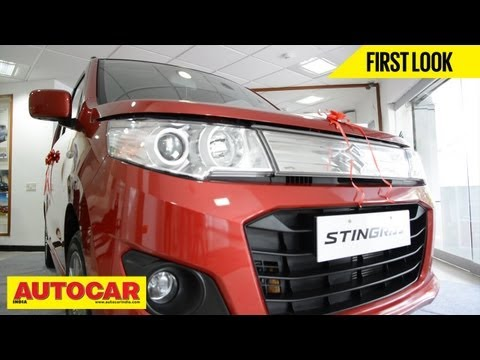 Maruti Suzuki WagonR Stingray | Quick Look Video | Autocar India
