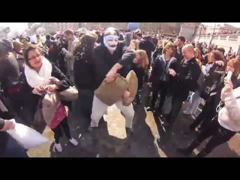 London's World Pillow Fight Day 2013 Flash Mob - Official Video - by Sound Asleep