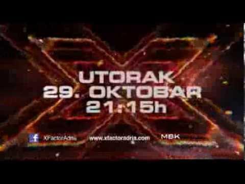 X Factor Adria - Sezona 1 - Promo 2