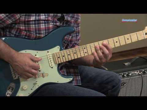 Fender Deluxe Lone Star Stratocaster Electric Guitar Demo - Sweetwater Sound