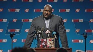 NBA 2K18 - Shaq Legend Edition Bejelentés