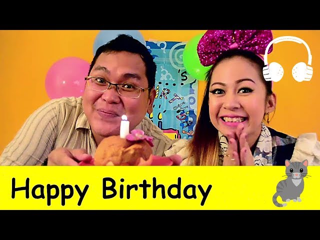 Happy Birthday | Family Sing Along - Muffin Songs