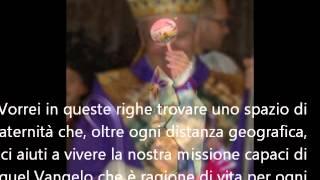 Lettera del Vescovo Francesco Beschi ai missionari bergamaschi