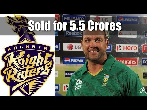 Jacques Kallis bought by KKR