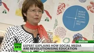 Social media push education forward