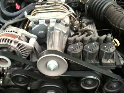 VX L67 Supercharger Squeal  YouTube