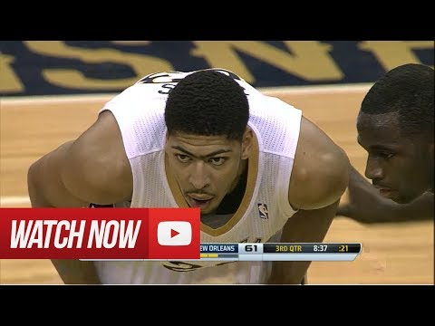 2014.03.16 - Anthony Davis Career-High Full Highlights vs Celtics - 40 Pts, 21 Reb, 3 Blocks