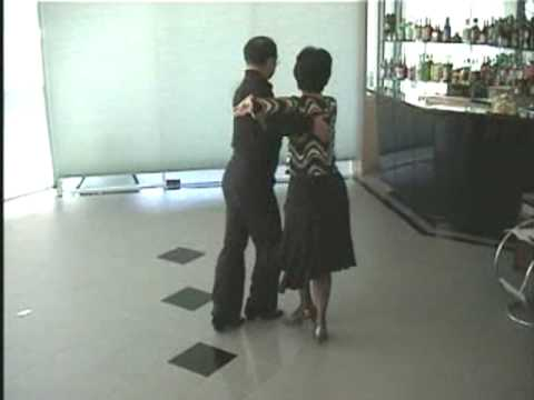 Tango Terrific - Australia New Vogue Dance  Dancers - Frankie and Rita  practised in 2004