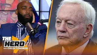 DeAngelo Hall: Jerry Jones is a main reason for the Cowboys' dysfunction | NFL | THE HERD