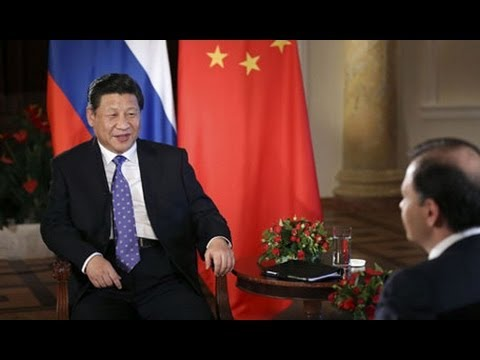 Xi Jinping speaks on ties with Russia in TV interview