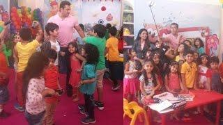 Salman Khans Enjoy With Kids