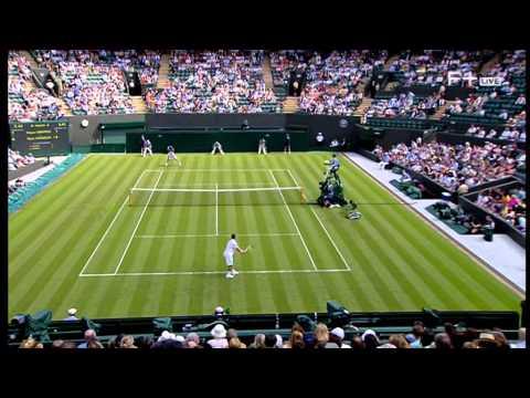 Grigor Dimitrov vs Ryan Harrison Wimbledon 2014 Round 1 Part 1