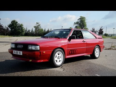 1985 Audi Ur-Quattro - WINDING ROAD Sights & Sounds