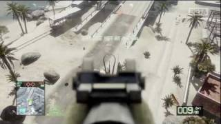 Vantage Point - Battlefield: Bad Company 2- Beta Gameplay (HD)