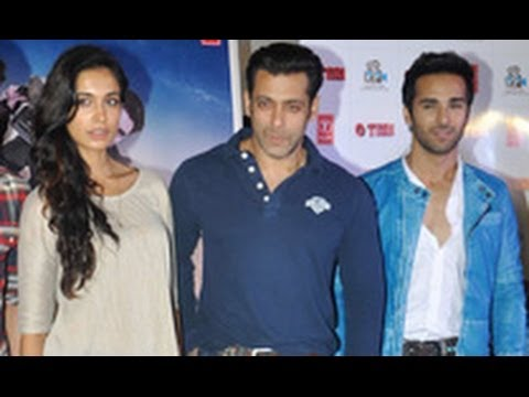Salman Khan at 'Oh Teri' Trailer Launch | Sarah Jane Dias, Pulkit Samrat, Atul Agnihotri