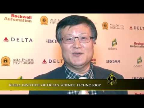 Korea Institute of Ocean Science Technology wins at the 2014 Asia-Pacific Stevie Awards