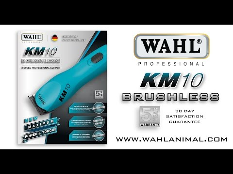 Wahl KM10 Corded Clipper - with extra #10 Blade!