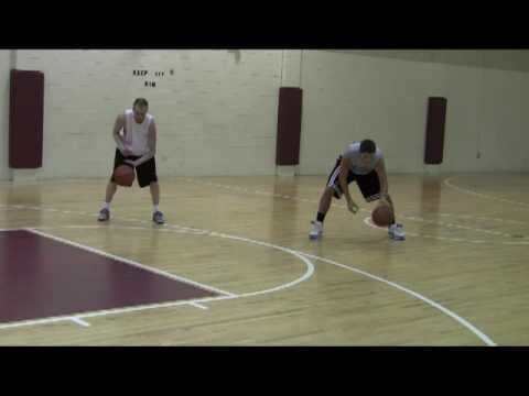Basketball advance dribbling drill using tennis balls with KevinR