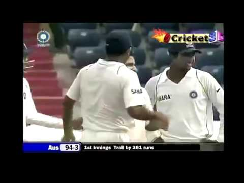 Piyush Chawla Excellent Ball  to Ricky Ponting  BP XI vs AUS Test Match 2011