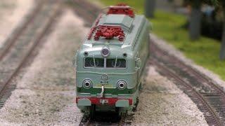 Wunderschöne Modelleisenbahn Tren dels Llacs aus Spanien in Spur H0