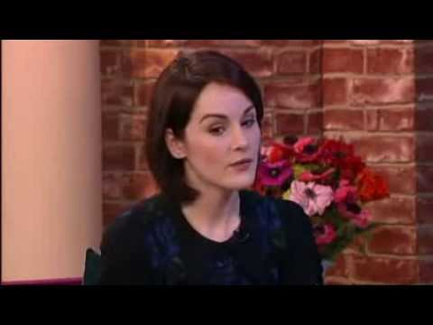 Michelle Dockery. ITV This Morning. 2/28/2014