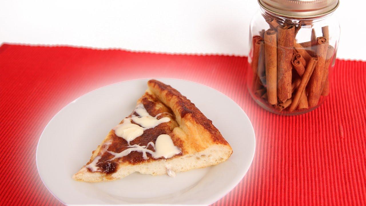 Cinnamon Roll Pizza Recipe — Dishmaps