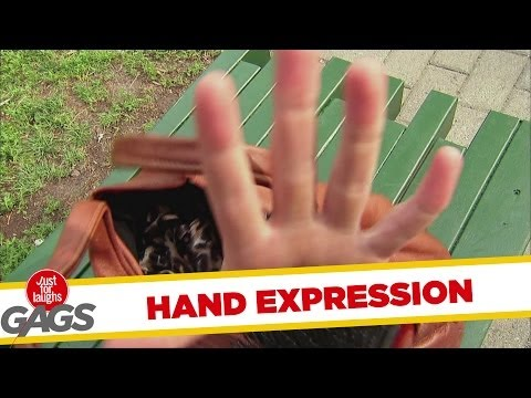 Hand Expression Tutorial Prank