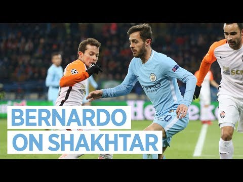 REGROUP & REACT | Bernardo Silva Post Match | Shakhtar Donetsk 2-1 Man City