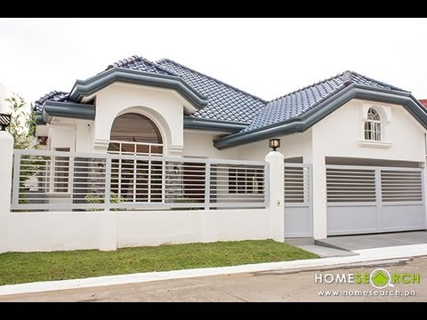 Bungalow House For Sale in BF Homes, Paranaque Philippines - YouTube