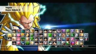 Dragon Ball Raging Blast 2- All Characters