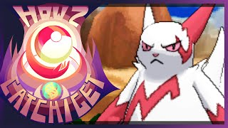 How & Where To Catch/get Zangoose In Pokemon X And Y