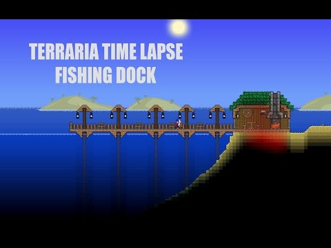Terreria Time Lapse Fishing Dock